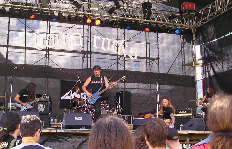 Anguish Force Badia Rocks 1 - Anguish Force Badia Rocks - live