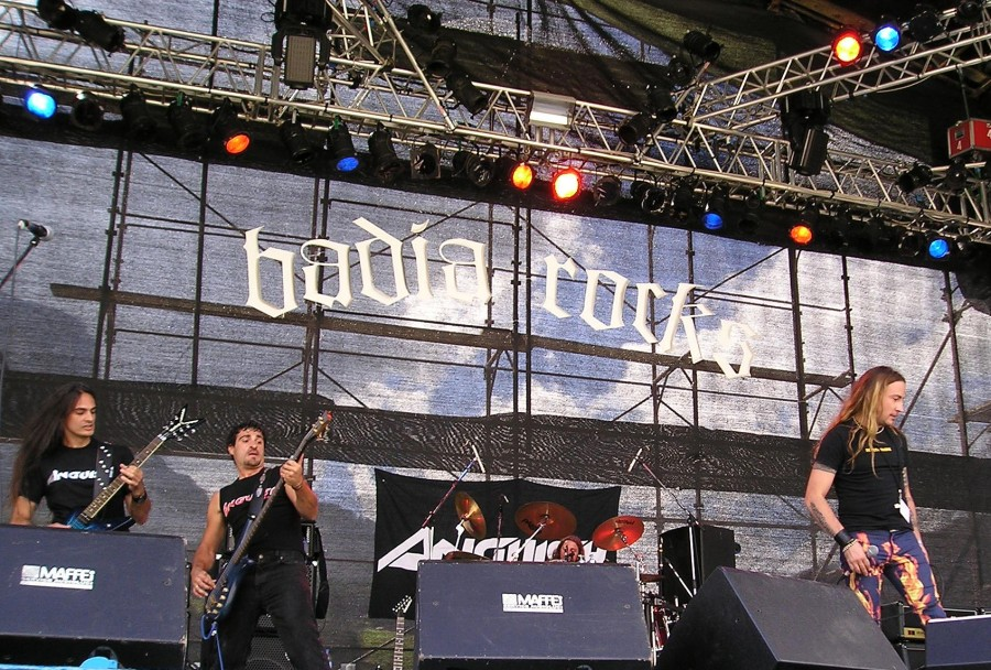 Anguish Force Badia Rocks 3 - Anguish Force Badia Rocks - live