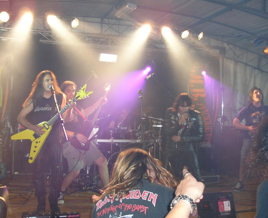 Anguish Force Baselga Metal Festival 10 - Baselga Metal Festival - live-