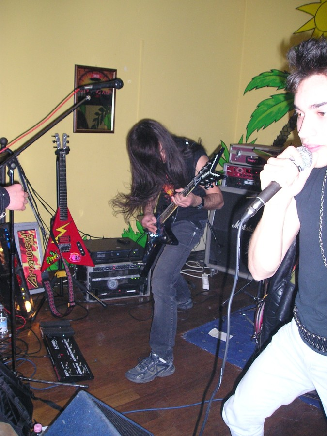 Anguish Force Iguana 10 - Anguish Force Iguana - live