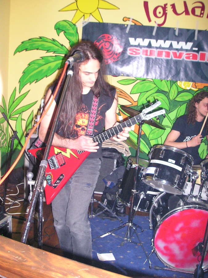 Anguish Force Iguana 12 - Anguish Force Iguana - live