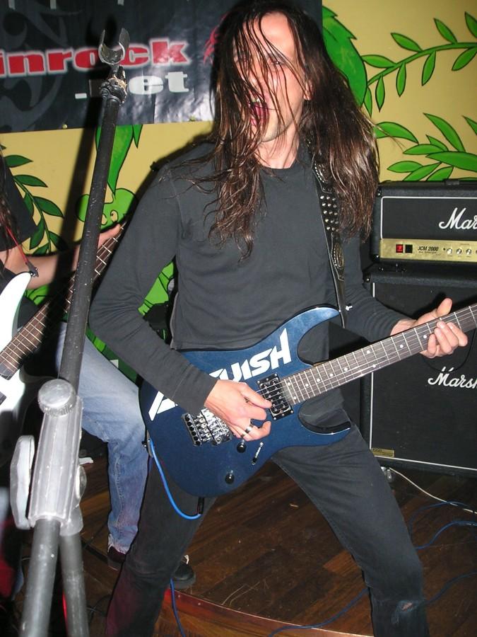 Anguish Force Iguana 16 - Anguish Force Iguana - live