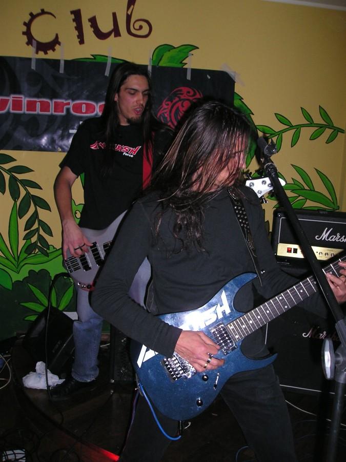 Anguish Force Iguana 17 - Anguish Force Iguana - live