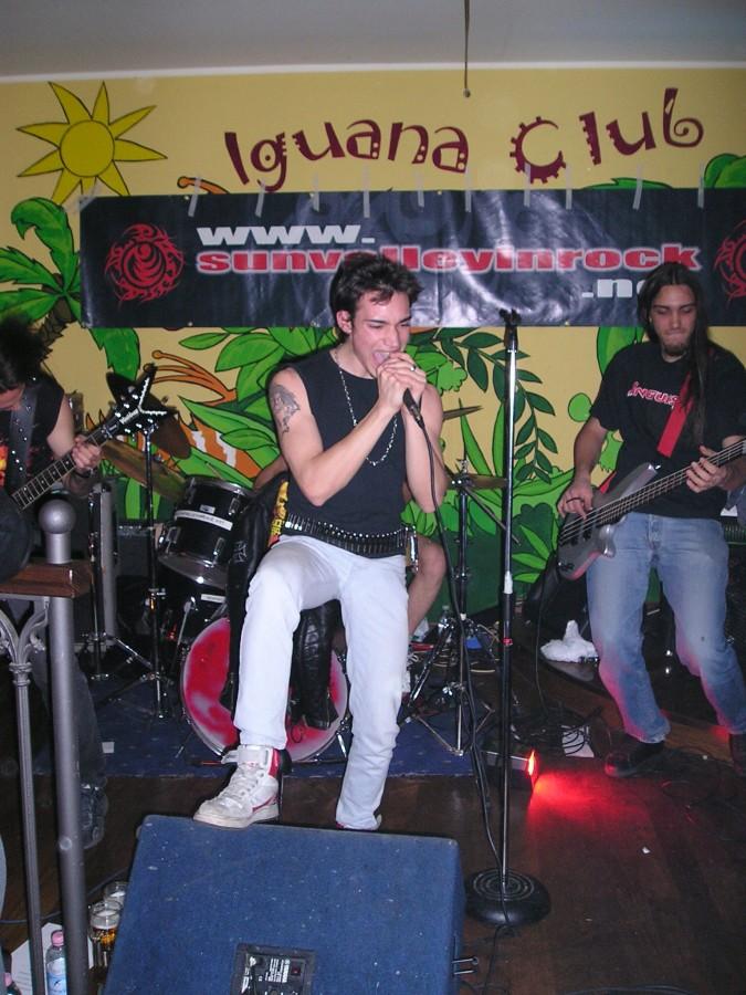 Anguish Force Iguana 18 - Anguish Force Iguana - live