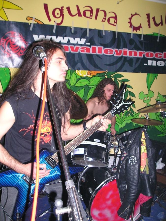 Anguish Force Iguana 6 - Anguish Force Iguana - live