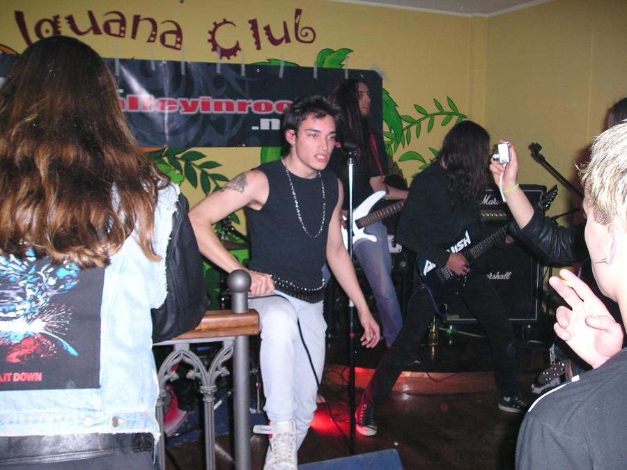 Anguish Force Iguana 7 - Anguish Force Iguana - live