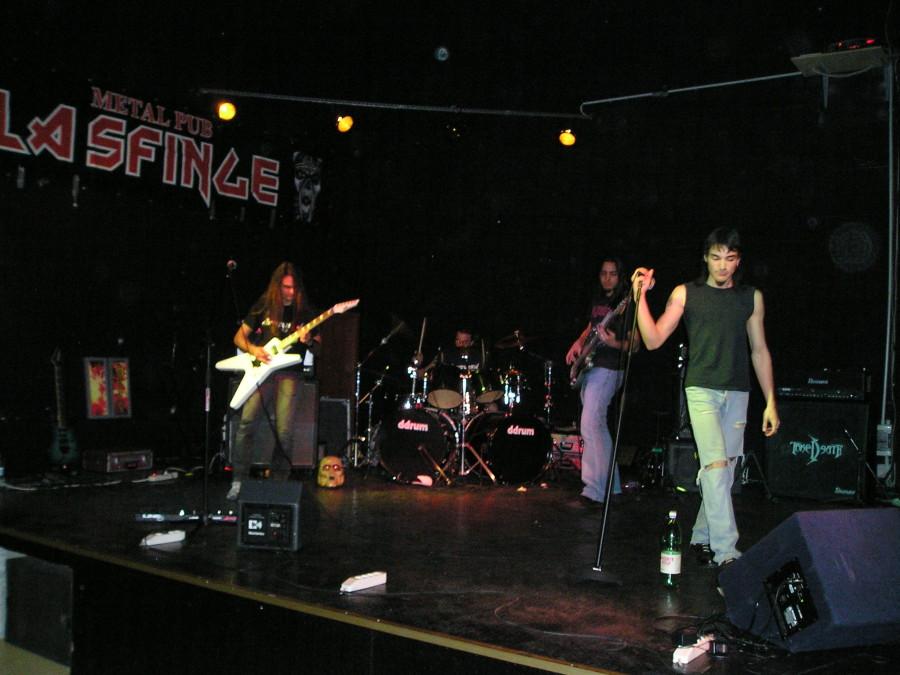 Anguish Force La Sfinge Brescia 5 - Anguish Force La Sfinge Brescia - live-