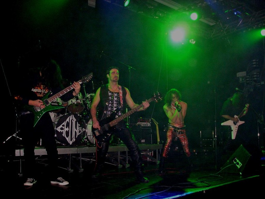 Anguish Force Ufo Metal Night 1 - Metal Night - live