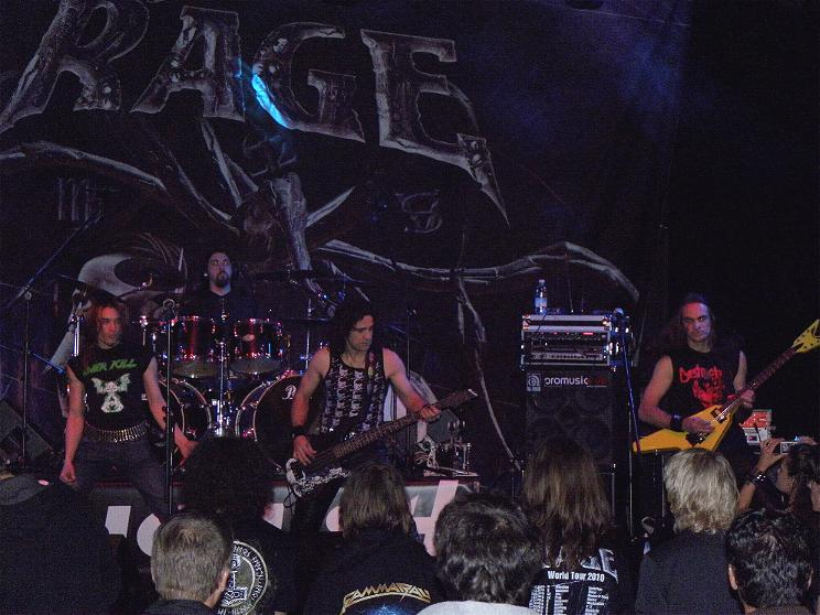 Anguish Force Ufo supporting Rage 11 - Ufo Bruneck - supporting Rage - live-