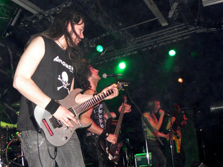 Anguish Force Ufo supporting Rage 14 - Ufo Bruneck - supporting Rage - live-