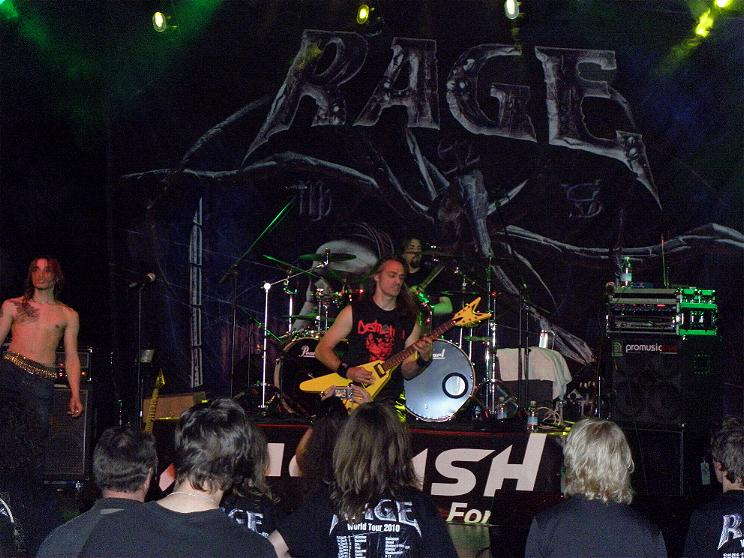 Anguish Force Ufo supporting Rage 18 - Ufo Bruneck - supporting Rage - live-