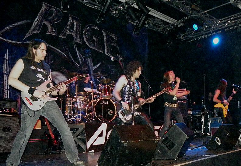 Anguish Force Ufo supporting Rage 20 - Ufo Bruneck - supporting Rage - live-