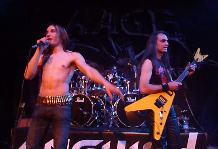 Anguish Force Ufo supporting Rage 22 - Ufo Bruneck - supporting Rage - live-