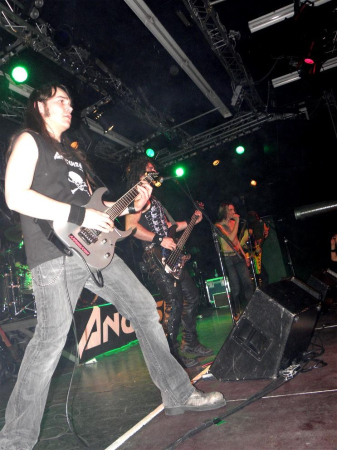 Anguish Force Ufo supporting Rage 25 - Ufo Bruneck - supporting Rage - live-