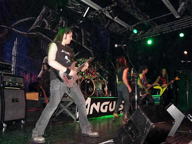 Anguish Force Ufo supporting Rage 26 - Ufo Bruneck - supporting Rage - live-