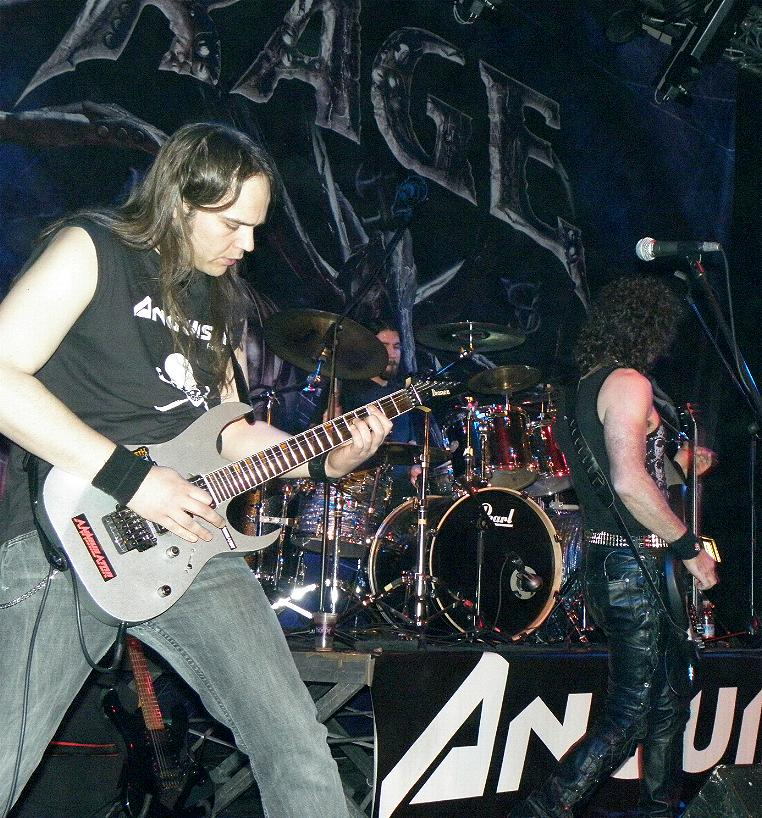 Anguish Force Ufo supporting Rage 3 - Ufo Bruneck - supporting Rage - live-