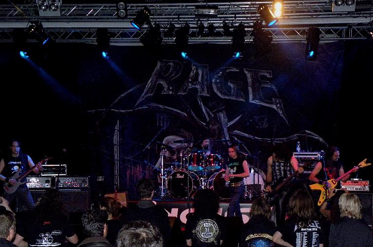 Anguish Force Ufo supporting Rage 30 - Ufo Bruneck - supporting Rage - live-