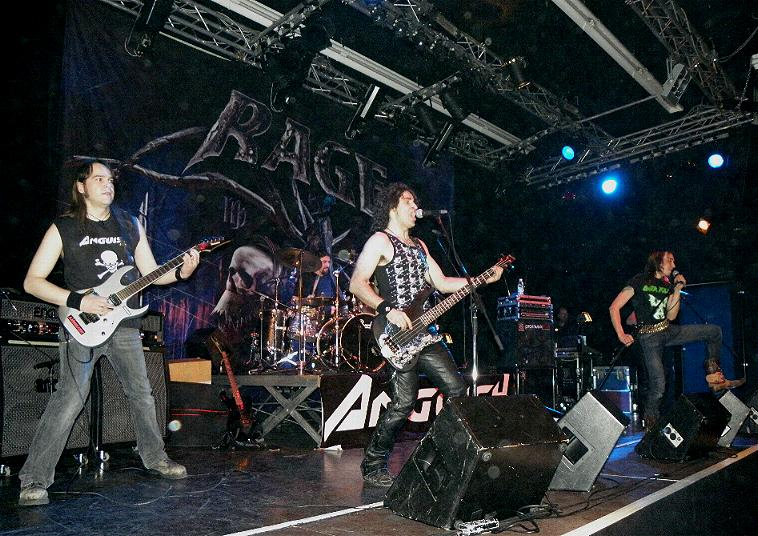 Anguish Force Ufo supporting Rage 31 - Ufo Bruneck - supporting Rage - live-