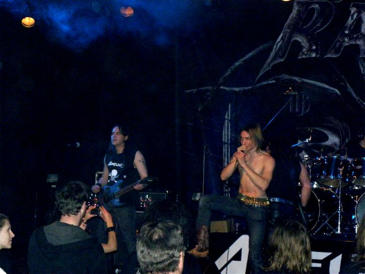 Anguish Force Ufo supporting Rage 32 - Ufo Bruneck - supporting Rage - live-