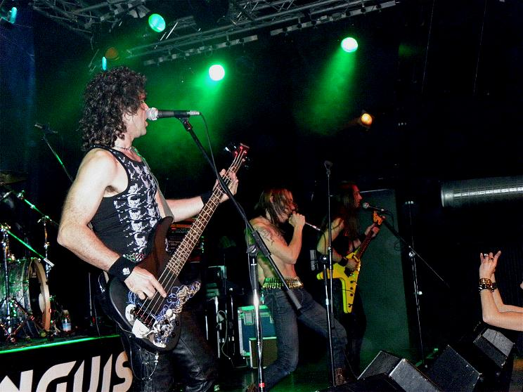 Anguish Force Ufo supporting Rage 4 - Ufo Bruneck - supporting Rage - live-