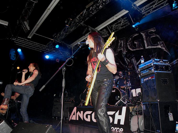 Anguish Force Ufo supporting Rage 5 - Ufo Bruneck - supporting Rage - live-