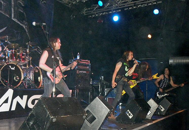 Anguish Force Ufo supporting Rage 6 - Ufo Bruneck - supporting Rage - live-