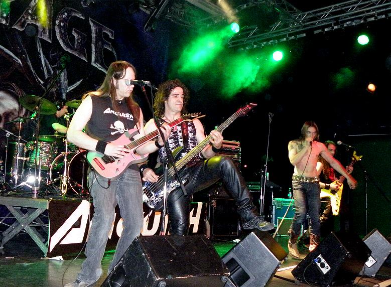 Anguish Force Ufo supporting Rage 9 1 - Ufo Bruneck - supporting Rage - live-