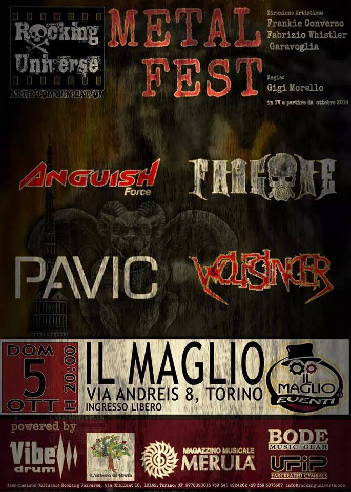 Anguish Force il Maglio - Flyers - others