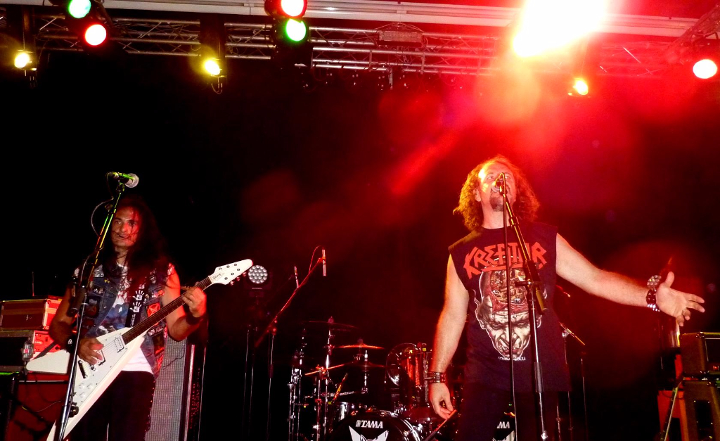 Anguish Force supporting Sepultura 1 1 - Supporting Sepultura - live-