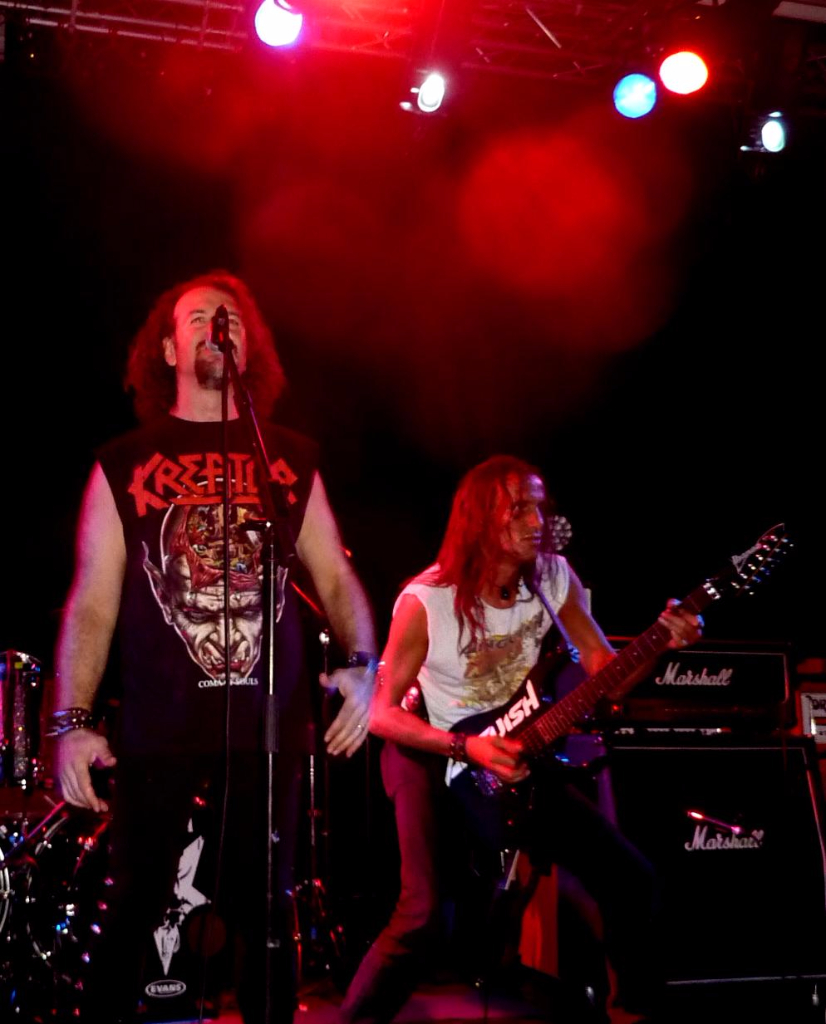 Anguish Force supporting Sepultura 20 - Supporting Sepultura - live-
