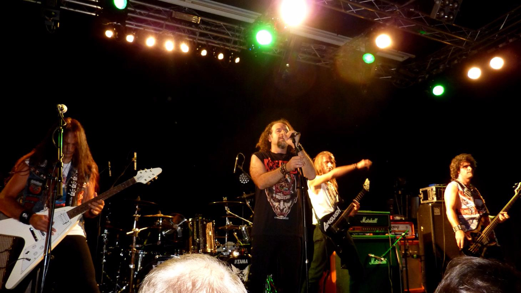Anguish Force supporting Sepultura 25 - Supporting Sepultura - live-