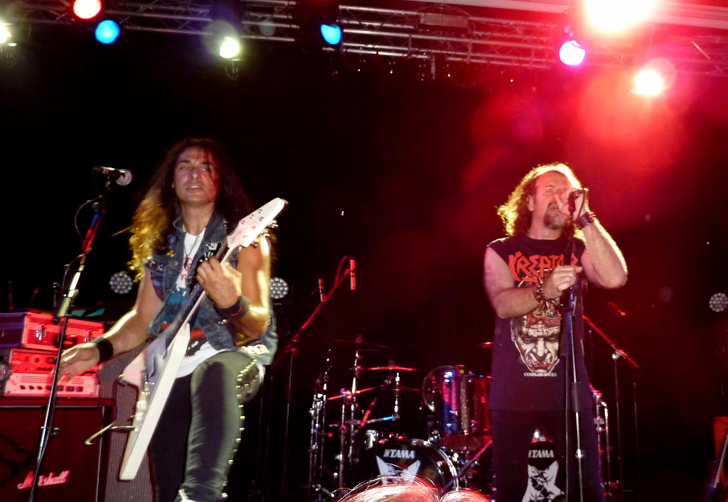 Anguish Force supporting Sepultura 5 - Supporting Sepultura - live-