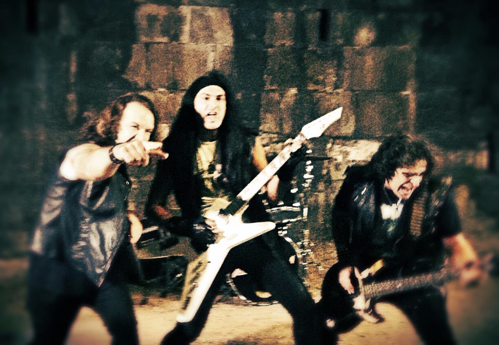 Anguish force metal videoclip rage - Rage - Making of Videoclip - live
