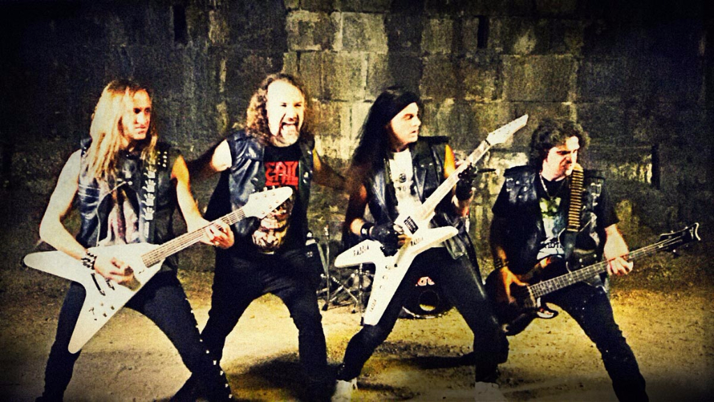 Anguish force tunnel rage rabbia metal - Rage - Making of Videoclip - live