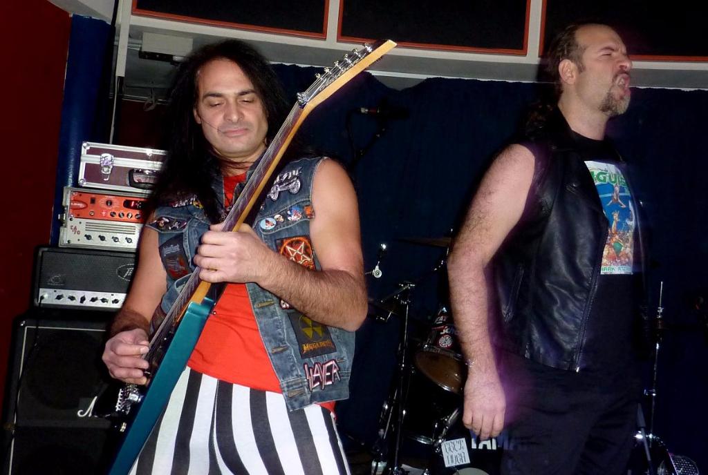 Anguish Force Halloween Metal 2015 7 - Halloween Metal Night - live