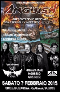 Flyer Lecco Anguish Force
