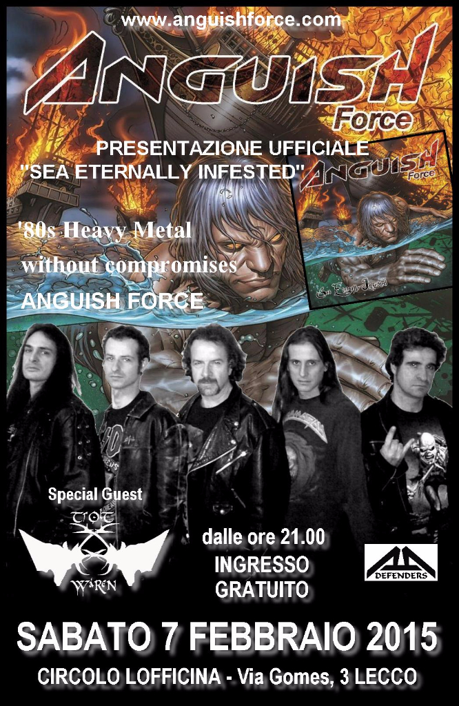 Flyer Lecco Anguish Force - Flyers - others