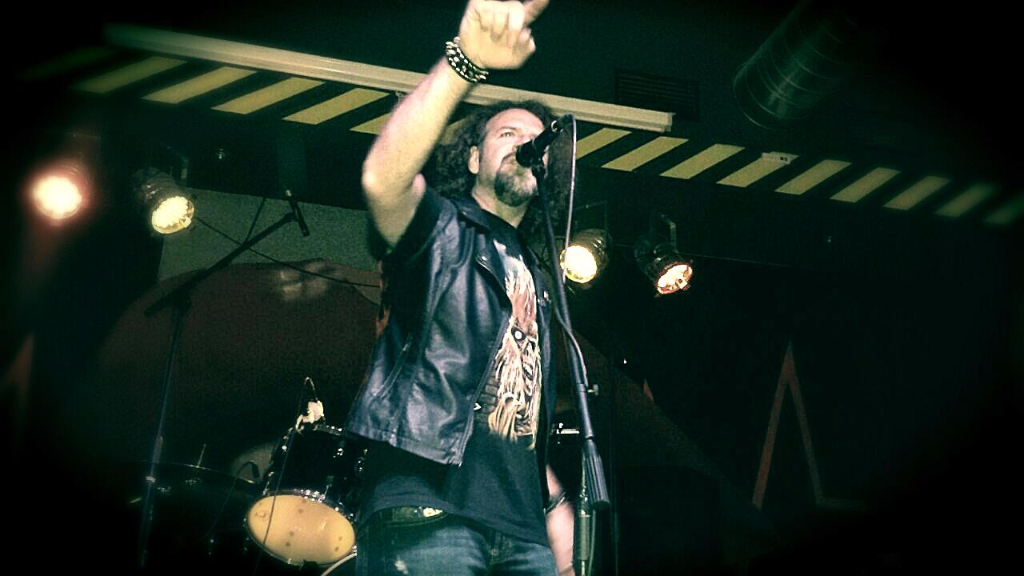 Kinnall Anguish force officine 12 - KINNALL - vocals - band