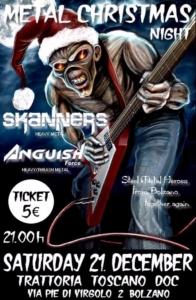Metal Christmas Night Skanners Anguish Force