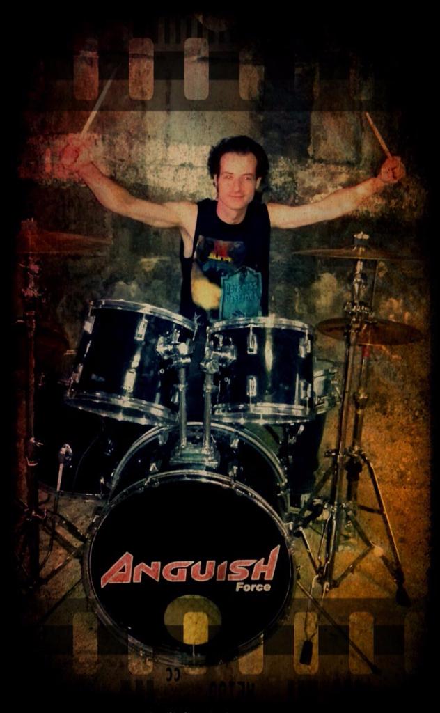 Pemmel anguish force - PEMMEL - drums - band-