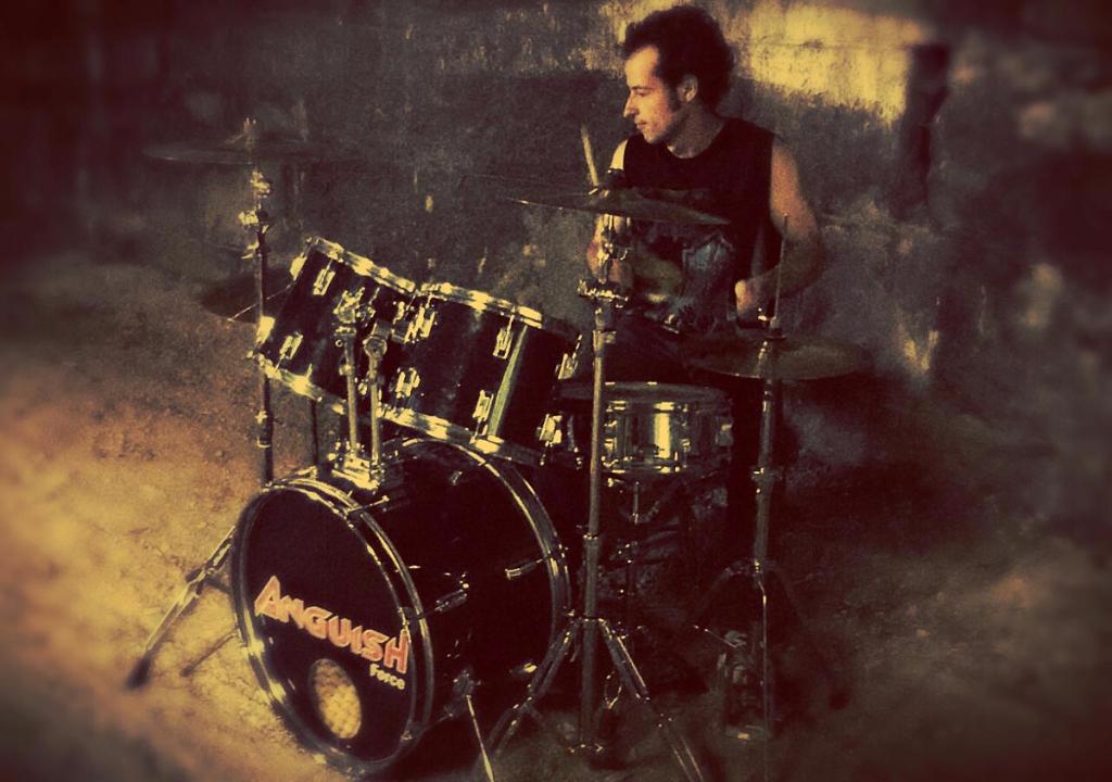 Pemmel drums anguish force - PEMMEL - drums - band-