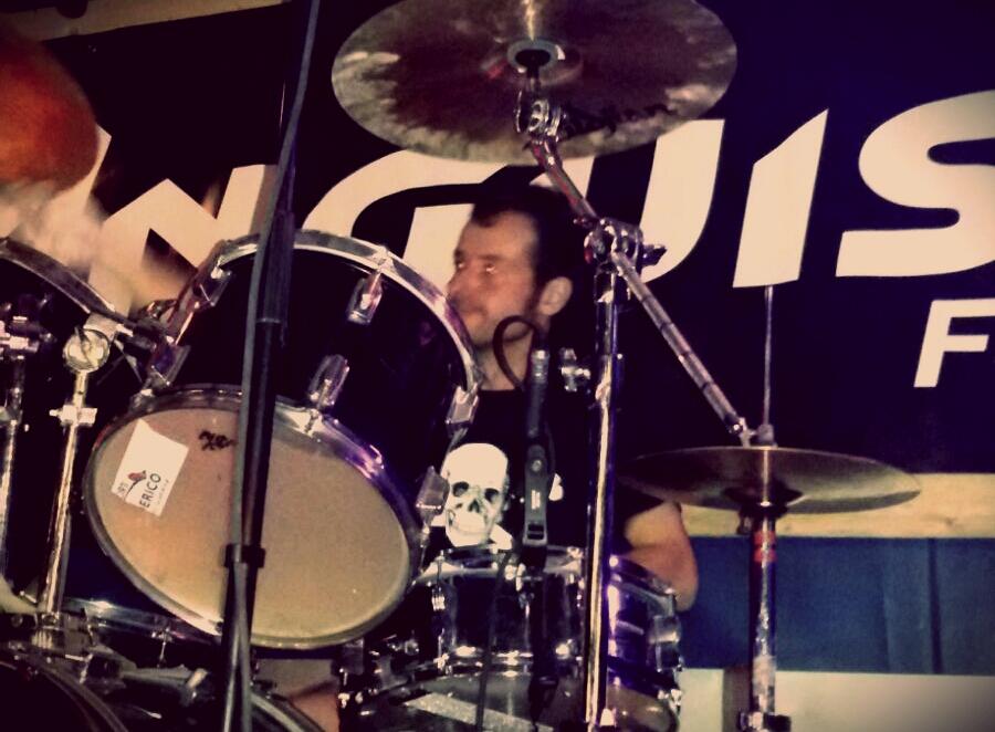 Pemmel anguish force castle of fear blumau - PEMMEL - drums - band