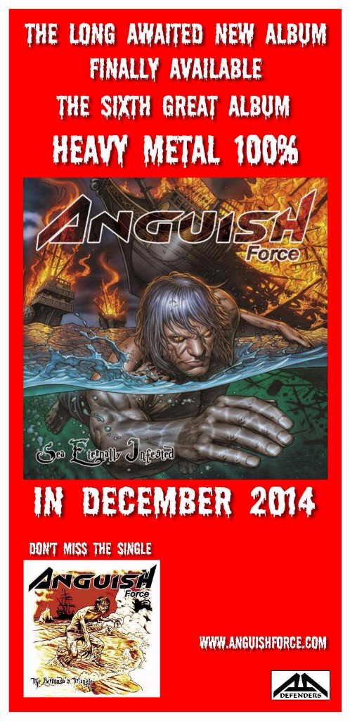 Spot Anguish Force 6 sea eternally infested - Flyers - others