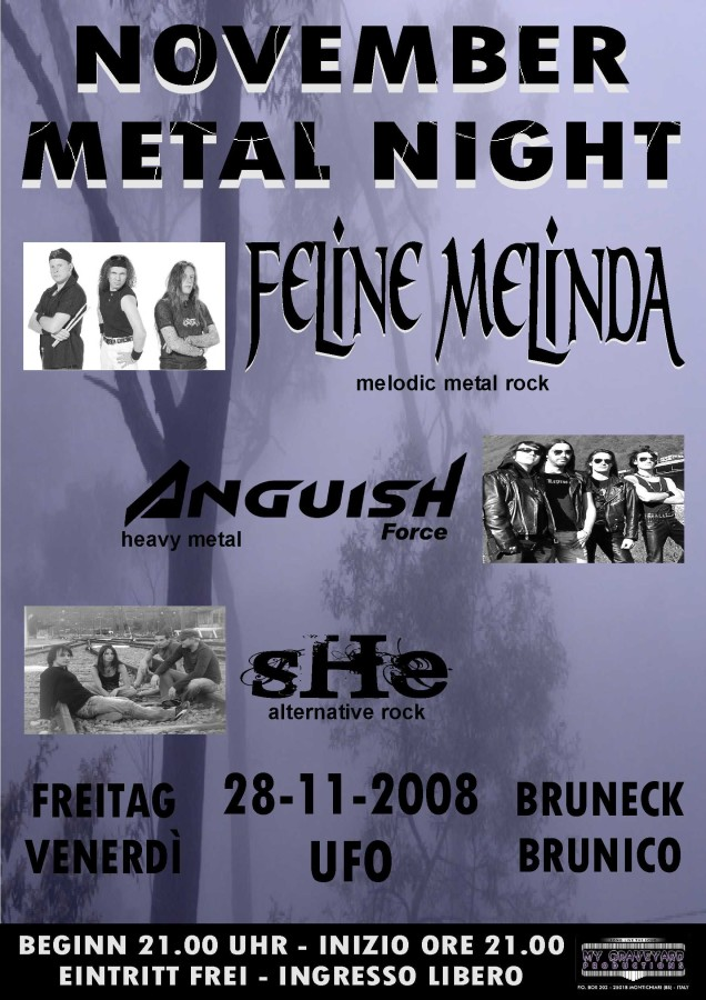 anguish force   locandine concerti heavy metal 20110207 1191903302 - Flyers - others