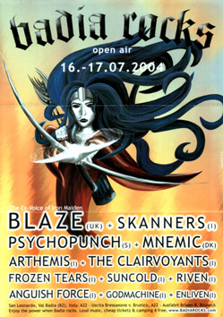 anguish force   locandine concerti heavy metal 20110207 1442615380 - Flyers - others