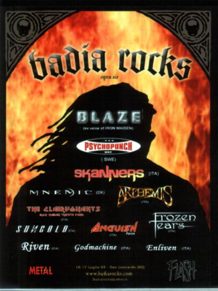 anguish force   locandine concerti heavy metal 20110207 1874513963 - Flyers - others