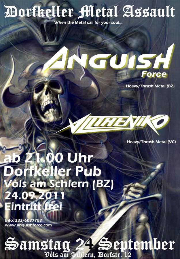 anguish force dorfkeller 2011 20110901 2066472416 - Flyers - others