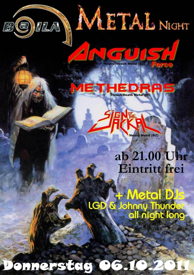 anguish force flyer metal night baila 20110914 1462063820 - Flyers - others