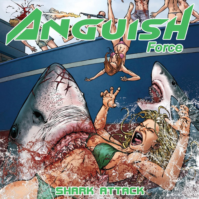 anguish force shark attack ep single new - Shark Attack EP - albums