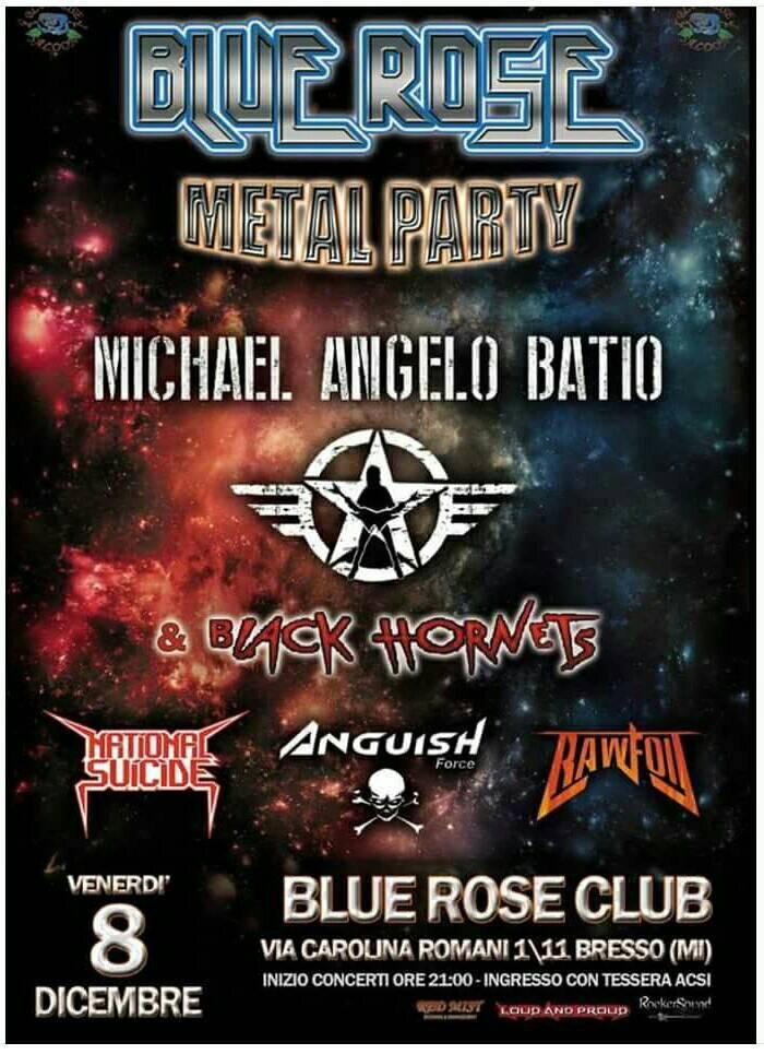 ANGUISH FORCE MICHAEL ANGELO BATIO - Flyers - others